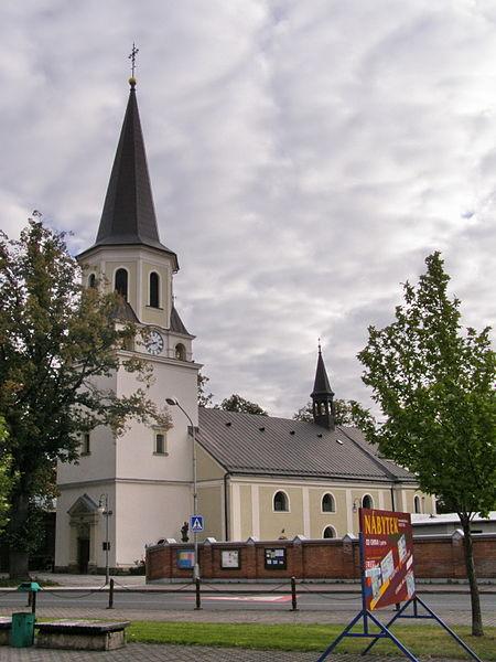 frydlant nad ostr kostel